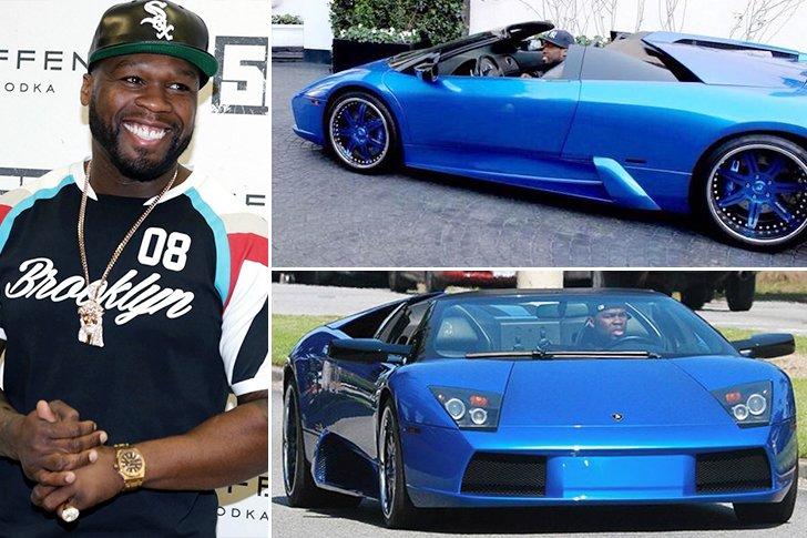 50 Cent Lamborghini Murcielago Estimated 2 Million