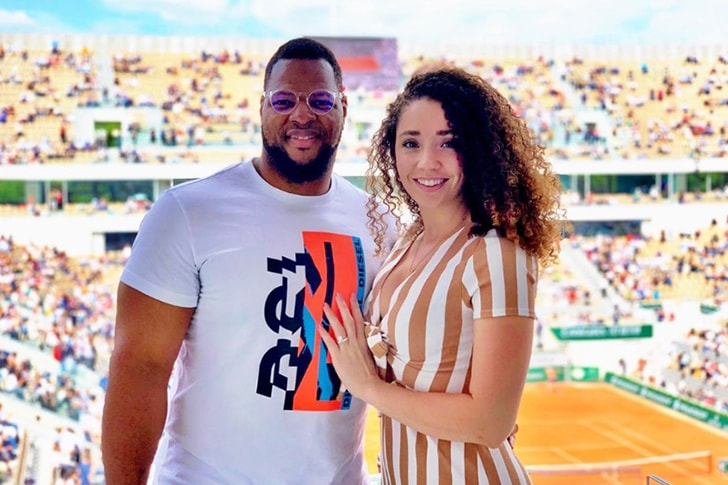 suh ndamukong katya leick players nfl couples forever might stay celebrity ever